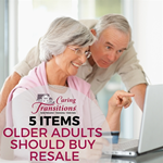 5 Items Older Adults Should Buy Resale